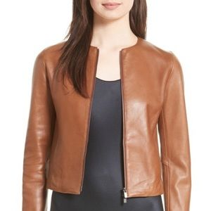 **50%OFF**Vince Leather Jacket NWT